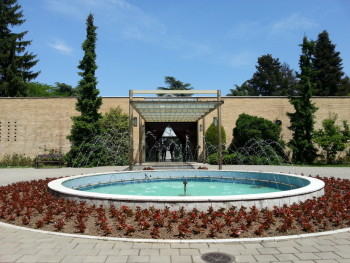 "The tomb and museum of Marshall Josip ""Tito"" Broz."