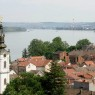 View over the Danube from Zemun to Belgrade